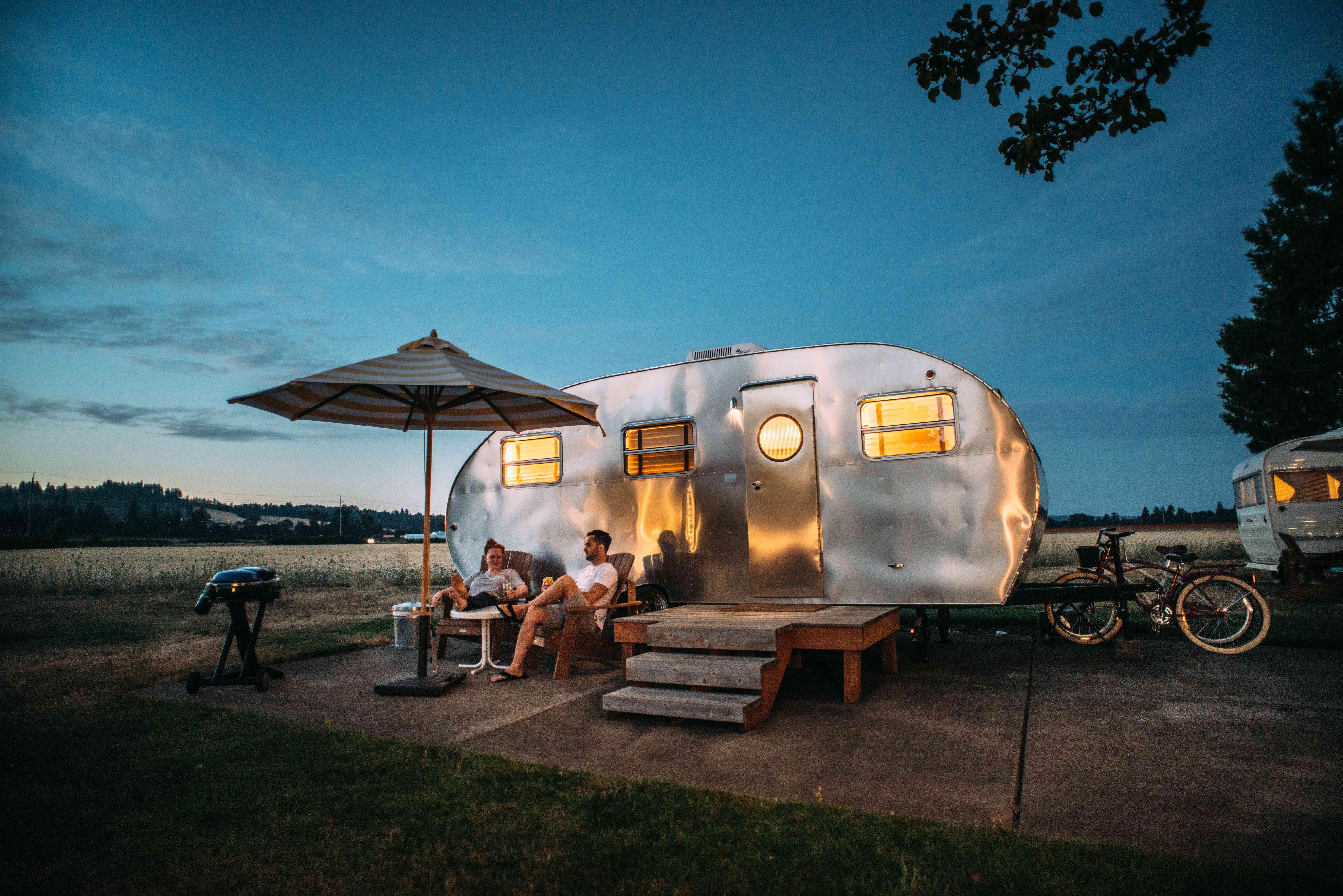 """Geld verdienen durch das Vermieten eines """"besonderen"""" Platzes zum Campen"""